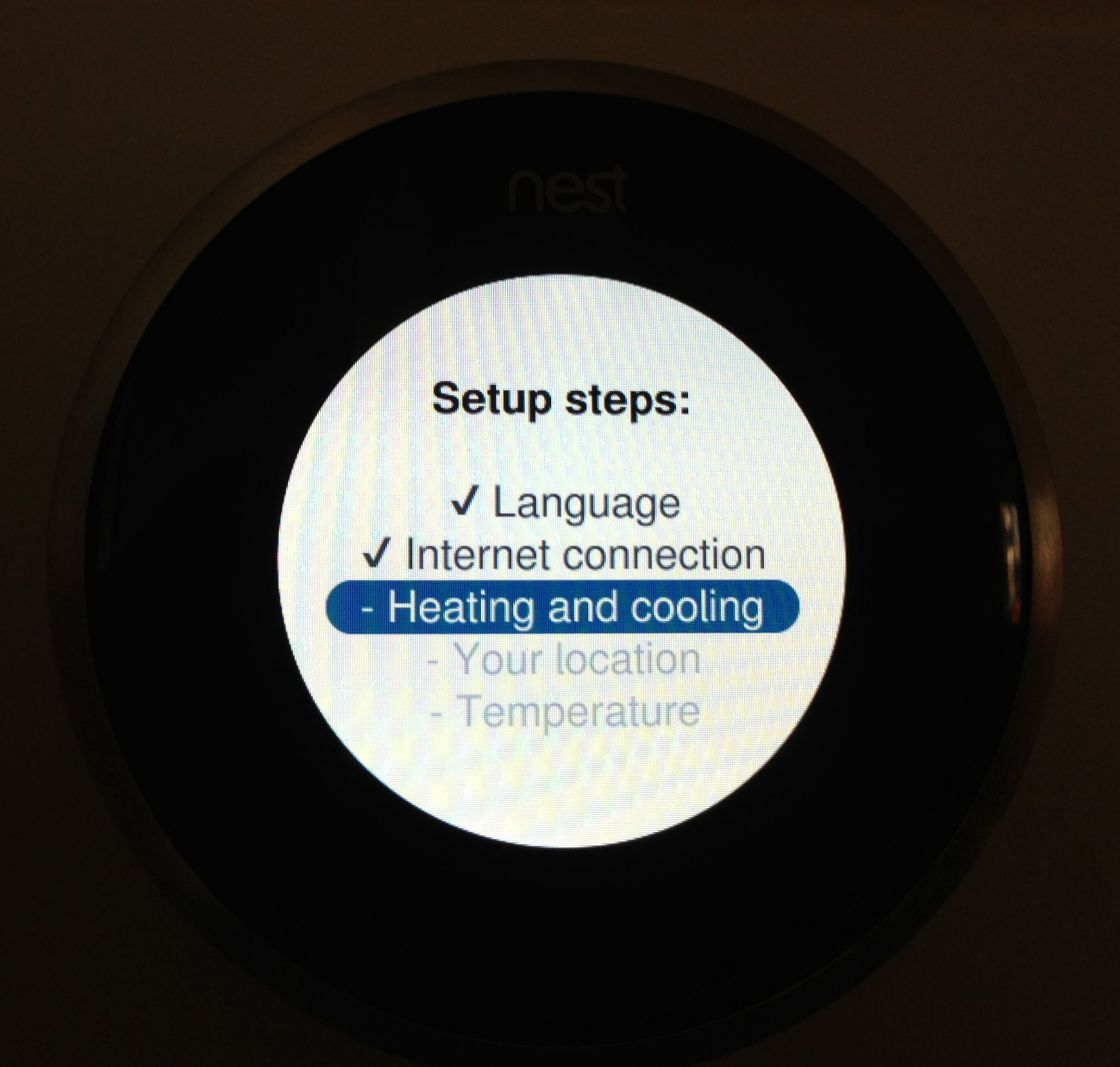 Nest Setup Steps