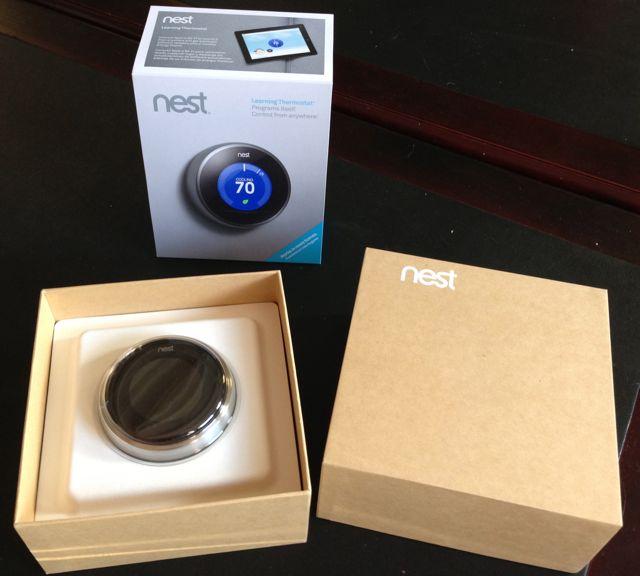 Nest Unboxing 1