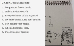 UX for Devs Manifesto